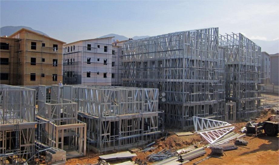 casas prefabricadas de acero y hormigon precios