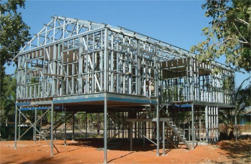 casa modular de acero