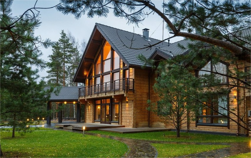 Casas prefabricadas de madera casas prefabricadas for Casas industrializadas precios y modelos