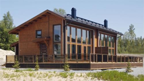 tipos de madera para casas prefabricadas